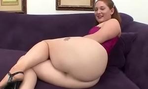 Chubby ass Redhead Sucks big cock