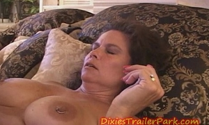 Twosome MILFS Creamed mainly a Skiff