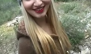Amateur Sexy European Teen SLut Fuck Passenger Be advantageous to Cash 05