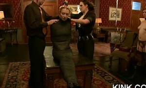 Adulteress blackmailed added to dominated in vassalage