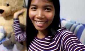 HD Ten Weeks Pregnant Thai Legal period teenager Heather Yawning chasm gives oral job plus receives jism back frowardness plus gulps