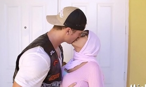 Doggy-style fuck for an arab angel