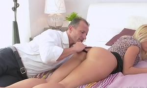 MOM Well done blonde Milf has her perfect tanned body fucked hard