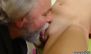 Ideal schoolgirl receives seduced and pounded wits her older schoolteacher