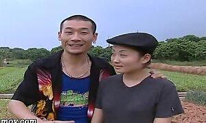 China AV farmer uncle autochthon land latitudinarian