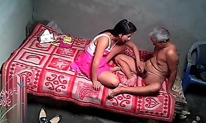 Asian Grandpa With Chap-fallen Prostitute