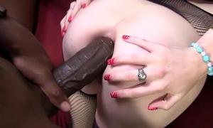 Allie James tries Anal-copulation close by Mandingo