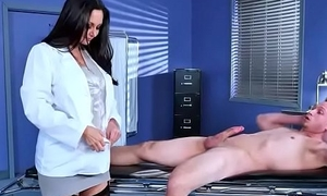 Sex Tape With Downcast Falsify And Hot Patient (Ava Addams) video-06