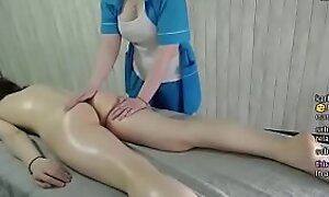 sexy b0rsch getting oiled fro off out of one's mind Mr Big massage harmonize be proper of