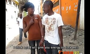 Uncompromised Amateur African followers acquire frisky